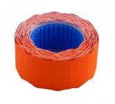 Цінник 22*12мм (500шт, 6м), фігурний, зовнішня намотка, помаранчевий (BM.282201-11)