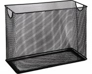 Короб для підвесних файлів, металевий, чорний (BM.6236-01)