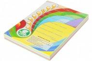 Набор цветной бумаги пастель, А4, (5 цветов по 50 листов, 250 листов) (A4.80.IQ.RB01.250)