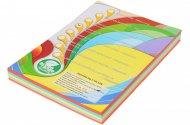 Набор цветной бумаги интенсив, А4, (5 цветов по 50 листов, 250 листов) (A4.80.IQ.RB02.250)