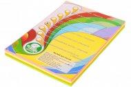 Набор цветной бумаги неон, А4 (4 цвета по 50 листов, 200 листов) (A4.80.IQ.RB04.200)