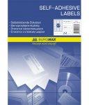 Етикетки клейкі, 12 шт/лист, 70х67,7 мм, 100 аркушів в упаковці (BM.2828)