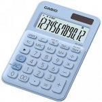 Калькулятор настольный CASIO, 12 р., цвет - голубой (MS-20UC)