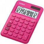 Калькулятор настольный CASIO, 12 р., цвет - темно-розовый (MS-20UC)