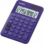 Калькулятор настольный CASIO, 12р.,  цвет - синий (MS-20UC)
