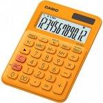 Калькулятор настольный CASIO, 12 р., цвет - оранжевый (MS-20UC)