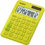 Калькулятор настольный CASIO, 12 р., цвет - желтый (MS-20UC)