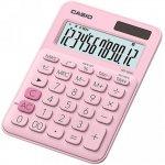 Калькулятор настольный CASIO, 12 р., цвет - розовый (MS-20UC)