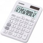 Калькулятор настольный CASIO, 12 р., цвет - белый (MS-20UC)