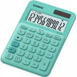 Калькулятор настольный CASIO, 12р., цвет - бирюзовый (MS-20UC)
