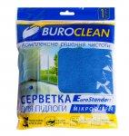Серветка для підлоги, мікрофібра, BuroClean EuroStandart 50х60 см (10200154)