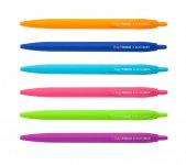 Ручка шариковая автоматическая Holly Touch, 0,7мм, цвет - ассорти (BM.8271-хх)