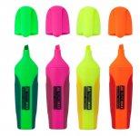 Набор из 4-х текст-маркеров Neon с рез. вставками (BM.8904-84)