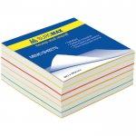 Блок бумаги для записей «РАДУГА», 80х80, 400 листов, ВМ.2233