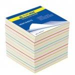 Блок паперу для нотаток ВЕСЕЛКА, JOBMAX, 90х90х70мм, не склеєний (ВМ.2249)