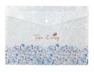 Папка на кнопке, А4+, Frozen Nature-02 (1495-02-a)