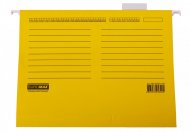 Файл підвісний картонний, А4, жовтий, по 10 шт. в упаковці (BM.3350-08)