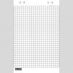 Блок бумаги для флипчартов BM.2299
