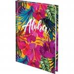 Книга записная твердая обл. А5, 120 л. кл. Neon Tropics (8432-09-a)