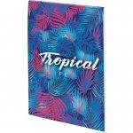 Блокнот-планшет, A5, 50 л, нелин. Neon Tropics-2 (8440-08-a)