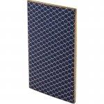 Блокнот, мягкая PU обл., 90*160 мм, 48 л., Scale, синий (8449-02-a)