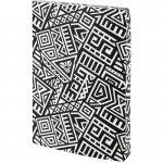 Блокнот двусторонний The Runes. Формат А5, 128 листов (64 в точку и 64 без линовки), бумага 80г/м2, запечатка среза в дизайн обложки. Цвет: белый. (8452-21-a)
