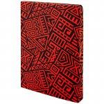 Блокнот двусторонний The Runes. Формат А5, 128 листов (64 в точку и 64 без линовки), бумага 80г/м2, запечатка среза в дизайн обложки. Цвет: красный. (8452-06-a)