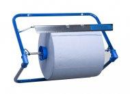 Диспенсер для рулонных бумажных полотенец настенный Katrin Blue Line (709158)