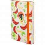 Книга записна Partner BBH Soft, 125*195, 96арк, кл, Fruits (8212-03-a)
