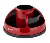 Подставка-органайзер Duoton выполнена из качественного прочного пластика двух цветов. Цвет: черный и красный. Упаковка: коробка. (2204-04-a)