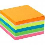 Блок паперу з клейким шаром, 75x75 мм, 450 аркушів. Асорті кольорів. Щільність 75 г/м2. (2326-53-a_