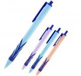 Ручка кулькова Axent Wave. Автоматична. Пишучий вузол - 0,7мм. Колір чорнила: синій. (ab1091-02-a)