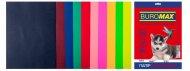 Набір кольорового паперу DARK+NEON, 10 кол., 50 арк., А4, 80 г/м² (BM.2721050-99)