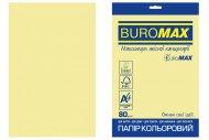 Папір кольоровий PASTEL, EUROMAX, жовтий, 20 арк., А4, 80 г/м² (BM.2721220E-08)