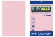 Папір кольоровий PASTEL, EUROMAX, рожевий, 20 арк., А4, 80 г/м² (BM.2721220E-10)
