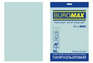 Папір кольоровий PASTEL, EUROMAX, блакитний, 20 арк., А4, 80 г/м² (BM.2721220E-14)