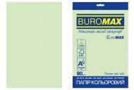 Папір кольоровий PASTEL, EUROMAX, св.-зелений, 20 арк., А4, 80 г/м² (BM.2721220E-15)