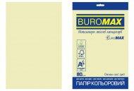 Папір кольоровий PASTEL, EUROMAX, бежевий, 20 арк., А4, 80 г/м² (BM.2721220E-28)