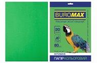 Папір кольоровий INTENSIVE, зелений, 20 арк., А4, 80 г/м² (BM.2721320-04)