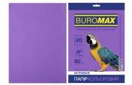Папір кольоровий INTENSIVE, фіолет., 20 арк., А4, 80 г/м² (BM.2721320-07)