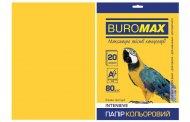 Папір кольоровий INTENSIVE, жовтий, 20 арк., А4, 80 г/м² (BM.2721320-08)