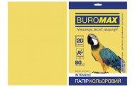 Папір кольоровий INTENSIVE, золотой, 20 арк., А4, 80 г/м² (BM.2721320-23)
