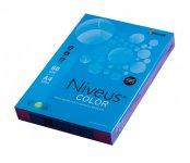 Папір кольоровий насичений, темно-синій, DB49, А4/80, 500арк. (A4.80.NVI.DB49.500)