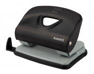 Діркопробивач металевої серії Exakt-2. Потужність до 20 аркушів. Висувна лінійка зі шкалою форматів. Колір чорний. Картонна упаковка. (3920-01-a)
