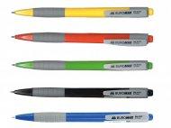Ручка кулькова автоматична FRESH, 0,7 мм, пласт.корпус, гумов.грип, сині чорнила (BM.8202)
