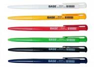 Ручка кулькова автоматична BASE, JOBMAX, 0,7 мм, пласт. корпус, сині чорнила (BM.8205-01)