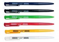 Ручка кулькова автоматична BASE, JOBMAX, 0,7 мм, пласт. корпус, чорні чорнила  (BM.8205-02)