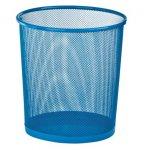 Кошик для паперів, 12 л, круглий, металевий, синій, KIDS Line (ZB.3126-02)
