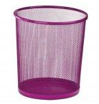 Кошик для паперів, 12 л, круглий, металевий, рожевий, KIDS Line (ZB.3126-10)