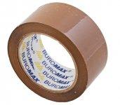 Клейка стрічка пакувальна, 48мм x 90 м, коричнева, по 6 шт. (BM.7025-01)